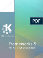 KDE Frameworks Cookbook