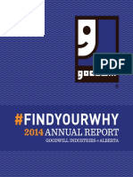 Goodwill Industries of Alberta, Annual Report 2014