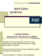 lambert eaton syndrome