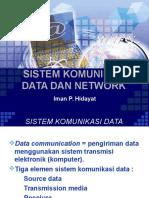 Sistem Komunikasi Data Dan Network