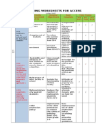 Sample Planning Worksheet E-SIP