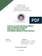ejemplo de estudio de mercado Capitulo I Boquimango