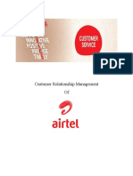 Customer relationship Management in Airtel