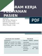 Program Kerja Pelayanan Pasien