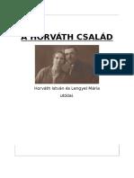 A Horváth CSALÁD Borító
