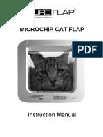 SureFlap Manual MICROCHIP CAT FLAP