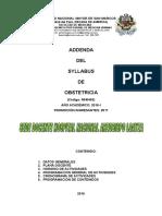 Addenda Obstetricia Hnal 2016 Alumnos Final
