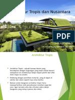 Arsitektur Tropis Dan Nusantara