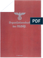 1937 Organisationsbuch Der Nationalsozialistische Deutsche Arbeiterpartei