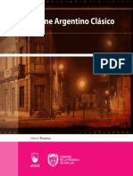 El Cine Argentino Clásico - Alberto Tricarico