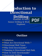 Directinal Drilling Technology