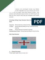 Perbandingan Berbagai Fungsi Manajemen Menurut Empat Pakar Manajer Ilmiah