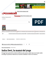 (5030)--Indra Devi, La Mamá Del Yoga