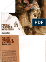 How to Draw - Portrait Painting in Watercolor