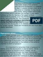 Hypopyon Corneal Ulcer