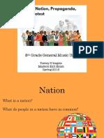 music and nation unit presentation