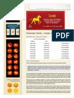 Características Do Signo Do Cavalo - Horóscopo Chinês