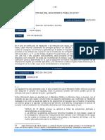 Acto de Imputación - Doctrina Del Ministerio Público 2010