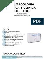 Farmacologia Basica Del Litio