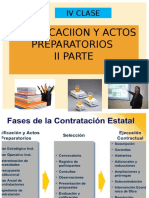 Programacion y Actos Preparatorio II Parte