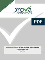 Sgc Tj Sp 2014 Escrevente Direito Processual Civil 01 a 16 Apostila