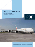 Manchester Airport Runway Data Sheet