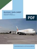 Manchester Airport Runway Data Sheet