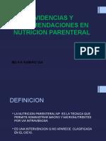 Nutricion Parenteral Neonatos