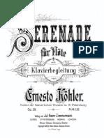 Serenade Op. 59-Kohler