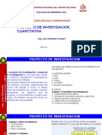 Proyecto de Investigacion Cuantitativa Fic-uncp