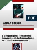 Asma y Cirugia