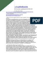 El Mercado y La Globalización. Guía de Lectura