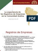 Experiencia Registros Empresas CAN.ppt