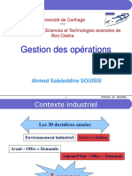 Gestion Des Opérations CHAP I