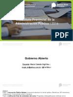 Innovación Pública Abierta (IPAP, DGP 2016)