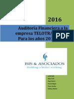 auditoria financiera Isis y Asociados