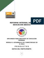 Trabajo de Reforma Integral