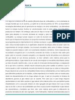 Informe de Petroquímica ETANOL