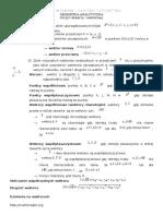 Karta Wzor w - Iloczyn Skalarny i Wektorowy