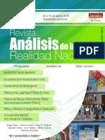 Revista de Análisis de la Realidad Nacional