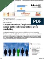 Consumidores Aspiracionales El Nuevo Público
