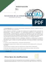 MÉTODOS de INVESTIGACIÓN - Sociología de La Comunicación