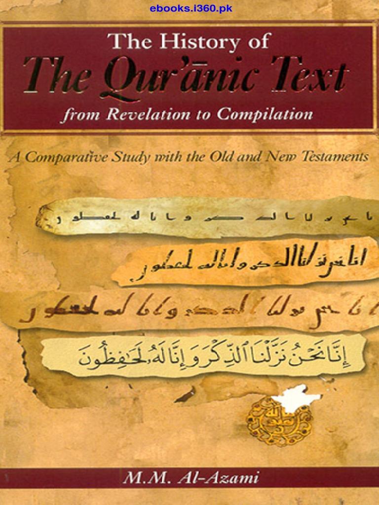 The history of the qurani text m m al azami ebooksi360 quran the history of the qurani text m m al azami ebooksi360 quran muhammad fandeluxe Choice Image