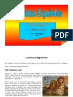 Cronistas Españoles