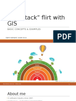 Full Stack Flert with GIS