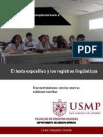 Documento Complementario 2_El Texto Expositivo y Los Recursos Lingüísticos