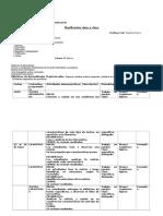 Planificación UNIDad3- 6° Basico