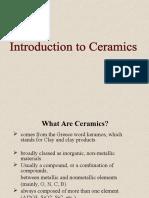 Ceramics Lec 2