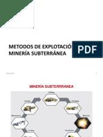 Labores Mineras y Fortificación