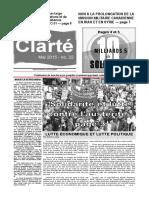 Clarté - Mai 2015
